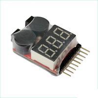 Battery Tester 1-8S Lipo