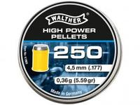 Walther High Power Pellets 4,5mm, 250st