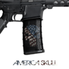 GunSkins® M4 MAG Skin x 3 - Punisher America