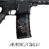 GunSkins® M4 MAG Skin x 3 - Punisher America