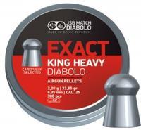 JSB Exact King MKII, 6,35mm - 2,200g 300st