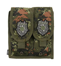 Inspire Molle Dubbel M4 Mag Pouch Digital Woodland