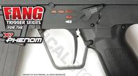 TechT Tippmann X7 Phenom Fang Trigger - Black