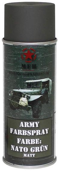MFH Army Spray Paint 400 ml Nato Green Matt