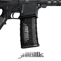 GunSkins® M4 MAG Skin x 3 - Infidel