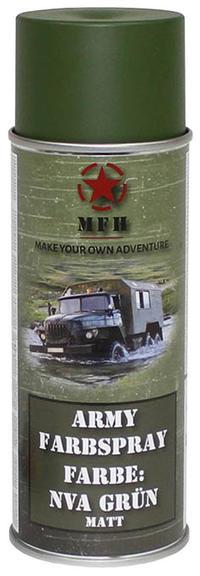 MFH Army Spray Paint 400 ml NVA Green Matt