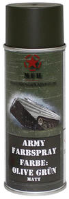 M.F.H.  Army Spray Paint 400 ml Olive Green Matt