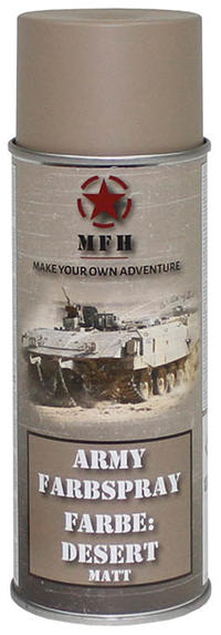 MFH Army Spray Paint 400 ml Desert Matt
