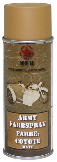 MFH Army Spray Paint 400 ml Coyote Matt