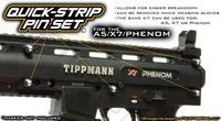 TechT Quick-Strip Body Pin Set - Fits A5, X7, Phenom