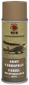 M.F.H.  Army Spray Paint 400 ml Tan Matt