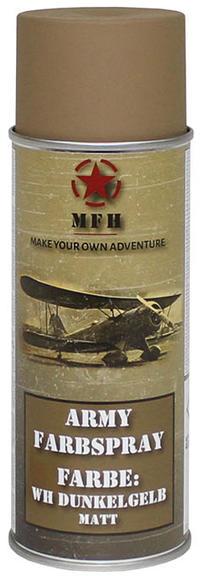 MFH Army Spray Paint 400 ml Tan Matt