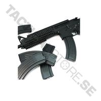 King Arms AK Style M16 100 Rounds Magazines Box Set (5pcs)