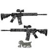 GunSkins® AR-15/M4 Skin - Reaper Black