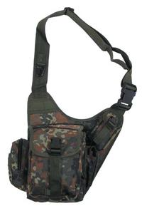 Military shoulder versipack Flecktarn