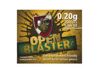 Open Blaster 0,20g, 6000 pcs Bio kulor