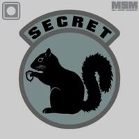 Patch MSM Secret Squirrel PVC