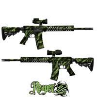 GunSkins® AR-15/M4 Skin - Reaper Z