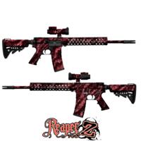 GunSkins® AR-15/M4 Skin - Reaper Z Pink
