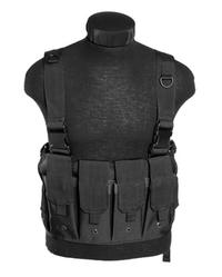 Mil-Tec Mag Carrier Chest Rig Svart