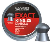 JSB Exact King, 6,35mm - 1,645g 350st