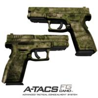 GunSkins® Pistol Skin - A-TACS FG