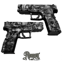 GunSkins® Pistol Skin - Reaper Black