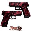 GunSkins® Pistol Skin - Reaper Z Pink
