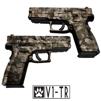 GunSkins® Pistol Skin - Valdyr V1-TR
