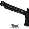 GunSkins® Rail Skin - Reaper Black