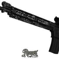 GunSkins® Rail Skin - Reaper Black