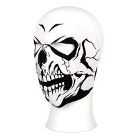 Full Face White Skull Mask