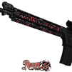 GunSkins® Rail Skin - Reaper Z Pink