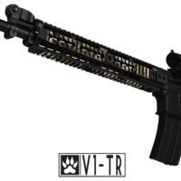 GunSkins® Rail Skin - Valdyr V1-TR