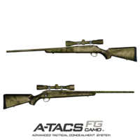 GunSkins® Rifle Skin - A-TACS FG