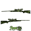 GunSkins® Rifle Skin - Reaper Z