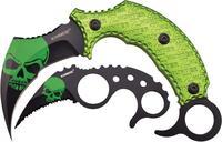 Z-Hunter Karambit Knife Set - Green