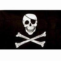 Flagga Pirat
