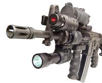 "TDI Arms Flashlight Adaptor 3/4"" diameter For Picatinny Rail OD Green"