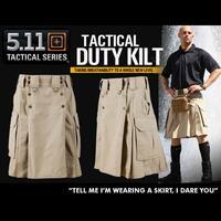 5.11 Tactical Tactical Duty Kilt Svart