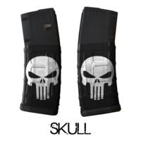 GunSkins® M4 MAG Skin x 3 - Punisher