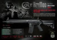 Cybergun Colt M4A1 Metal Long Keymod Handguard