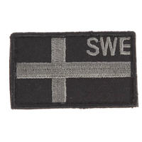 Snigel Design Svenska Flaggan Patch Liten Kardborre