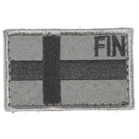 Snigel Design Finska Flaggan Patch Liten Kardborre