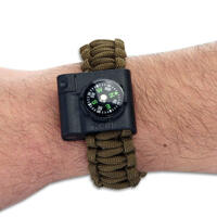 CRKT Survival Bracelet Accessory Compass & Led