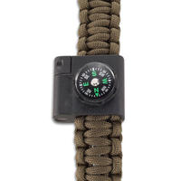 CRKT Survival Bracelet Accessory Compass & Firestarter