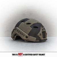 Spartan Helmet BJ-Style - Navy Seal