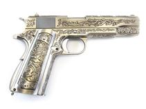WE 1911 Chrome - Etched Special Edition