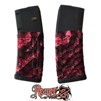 GunSkins® M4 MAG Skin x 3 - Reaper Z Pink