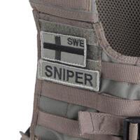 Snigel Design Sniper Patch Liten Kardborre